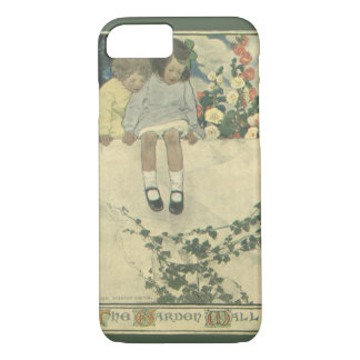 Vintage Children, Garden Wall Jessie Willcox Smith iPhone 7 Case