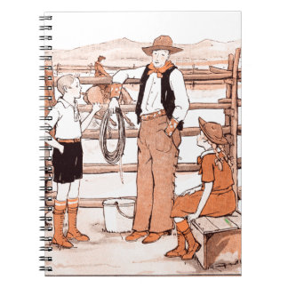 Vintage Child's Book - Talking to the Cowboy
