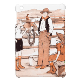 Vintage Child's Book - Talking to the Cowboy Case For The iPad Mini