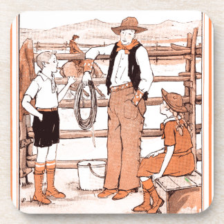 Vintage Child's Book - Talking to the Cowboy Coaster