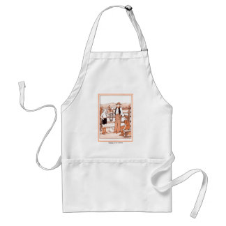 Vintage Child's Book - Talking to the Cowboy Standard Apron