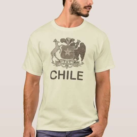 Vintage Chile Coat Of Arms T-Shirt