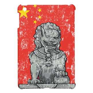vintage china chines statue iPad mini case