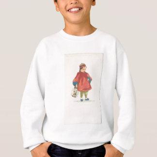 Vintage Chinese Illustration Sweatshirt