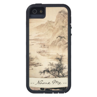 Vintage Chinese Sumi-e painting landscape scenery iPhone 5 Cover
