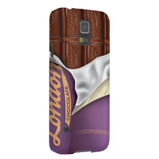 Vintage Chocolate Bar Unwrapped Case For Galaxy S5