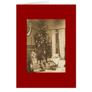 Vintage Christmas 1906 Card