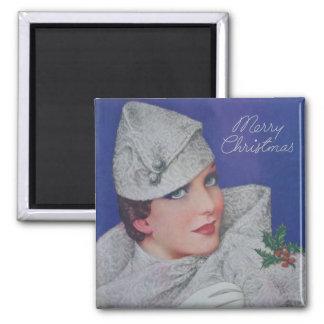 Vintage Christmas 1933 Magnet