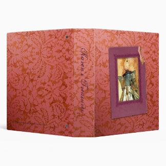 """Vintage Christmas Angel (1.5"""") Binder"""