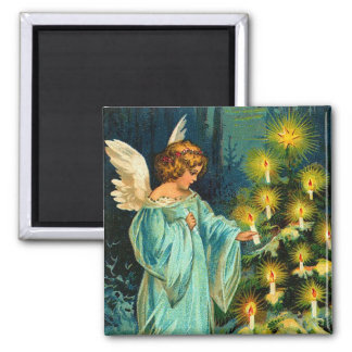 Vintage Christmas Angel Magnet