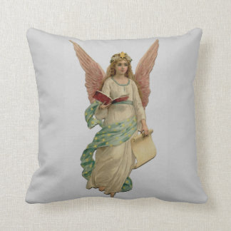 Vintage Christmas Angel Pillow