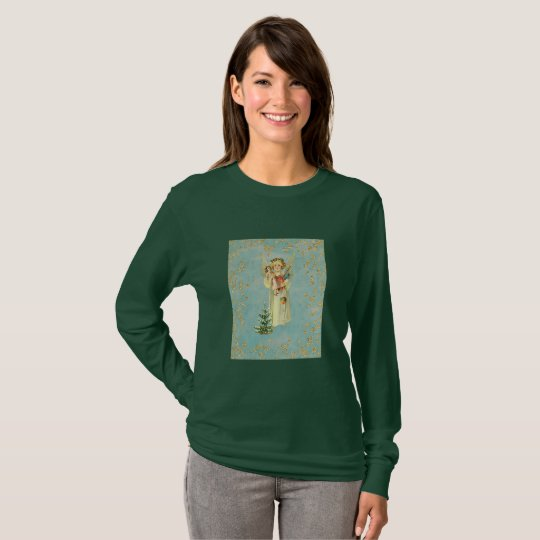 Vintage Christmas Angel T-Shirt