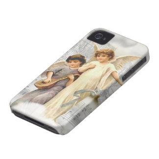 Vintage Christmas Angels Blackberry Bold BT Case Case-Mate iPhone 4 Cases