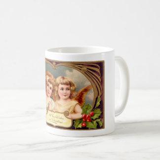 Vintage Christmas Angels Coffee Mug