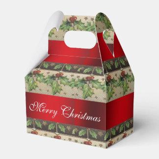 Vintage Christmas, Beautiful, Holiday Favor Box