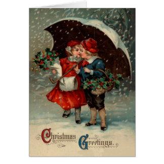 Vintage Christmas Card, Ellen Clapsaddle Card