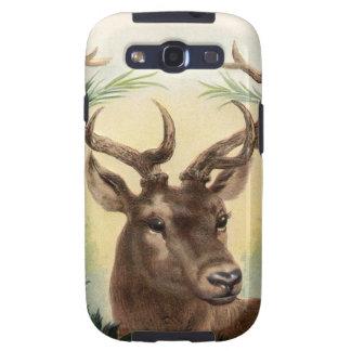 Vintage Christmas Deer Galaxy SIII Case