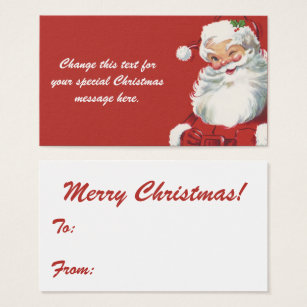 Santa claus business cards romeondinez santa claus business cards colourmoves
