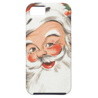 Vintage Christmas, Jolly Santa Claus with Smile Case For The iPhone 5