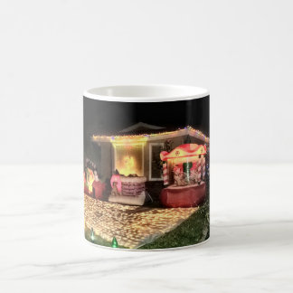 Vintage Christmas Lights and Decorations Coffee Mug