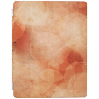 Vintage Christmas Lights Background. Red & Orange iPad Cover
