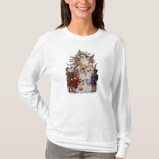 Vintage Christmas Longsleeved Shirt