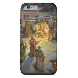 Vintage Christmas Nativity Tough iPhone 6 Case