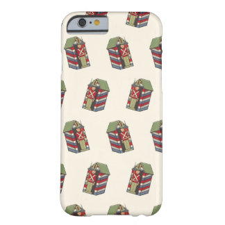 Vintage Christmas Pattern, Nutcracker Toy Soldier Barely There iPhone 6 Case