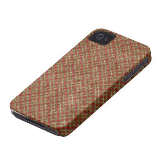 Vintage Christmas Plaid Blackberry Bold 9700/9780 Blackberry Bold Case