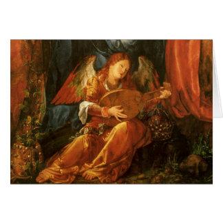 Vintage Christmas, Renaissance Angel by Durer Card