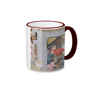 Vintage Christmas Saint Nicholas Coffee Mugs