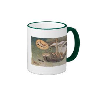 Vintage Christmas Saint Nicholas Coffee Mug