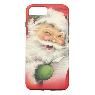 Vintage Christmas Santa Claus iPhone 7 Plus Case