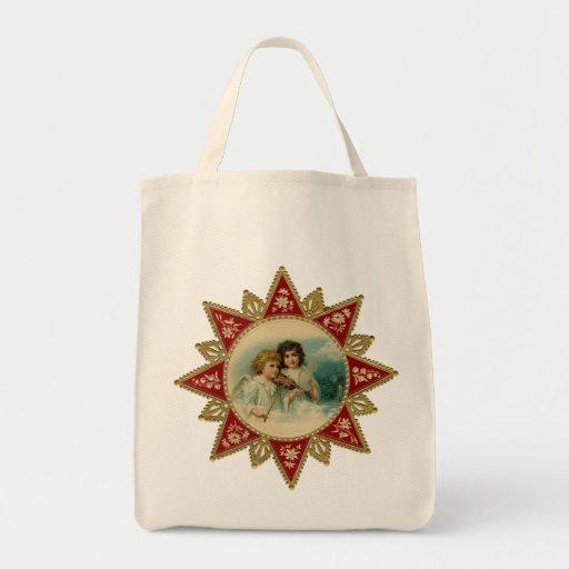 Vintage Christmas Shopping bag