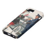 Vintage Christmas, Shopping Presents Policeman iPhone 5 Covers