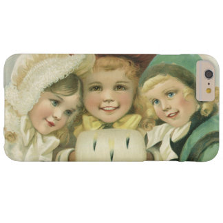 Vintage Christmas Sisters, Victorian Children Barely There iPhone 6 Plus Case