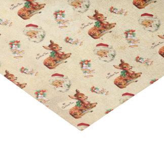 Vintage Christmas Tissue Paper