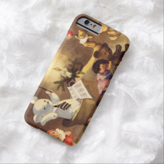 Vintage Christmas Toys, Dancing Dolls, Teddy Bears Barely There iPhone 6 Case