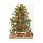 Vintage Christmas Tree Post Card