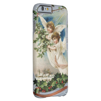 Vintage Christmas, Victorian Angels in a Sailboat Barely There iPhone 6 Case