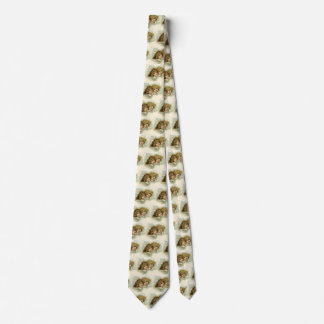 Vintage Christmas, Victorian Angels in the Clouds Tie
