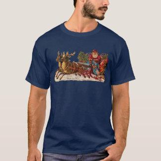 Vintage Christmas - Victorian Santa Claus T-Shirt
