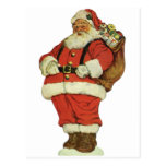 Vintage Christmas, Victorian Santa Claus Toys Postcards