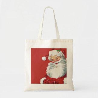 Vintage Christmas, Winking Jolly Santa Claus