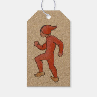 Vintage Christmas with Elf - Tomte Gift Tags