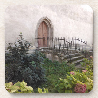 Vintage Church Door Coaster