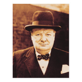 Vintage Churchill postcard