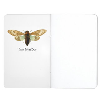 Vintage Cicada Illustration Journal