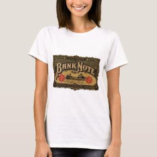 Vintage Cigar Label Art, Bank Note Money Finance T-Shirt