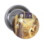 Vintage Cinderella and Fairy Godmother Fairy Tale Button